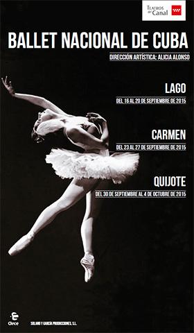 El Ballet Nacional de Cuba presenta El Lago de los cisnes, Carmen y El Quijote