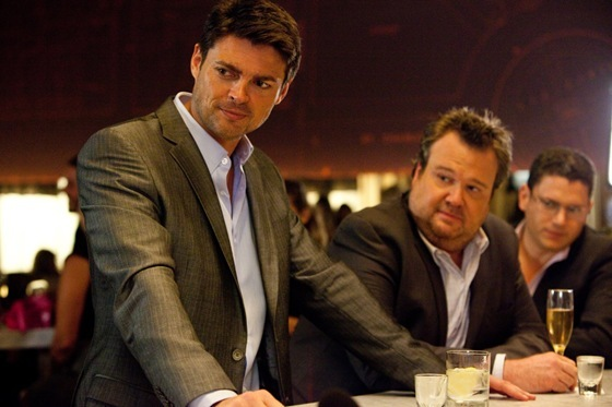 Karl Urban, Eric Stonestreet and Wentworth Miller in The Loft