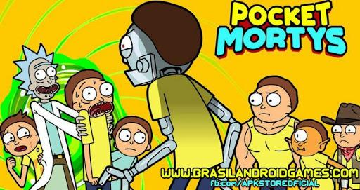 Download Pocket Mortys v2.2.2 APK Full - Jogos Android