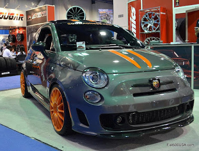Fiat 500 Abarth by 500 Madness