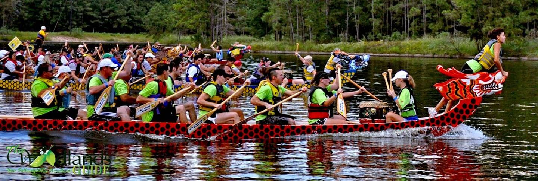 Woodlands Texas YMCA Dragon Boat Race Event