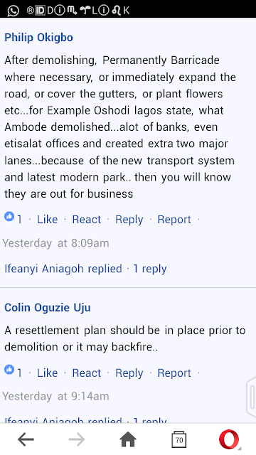 Anambra people Reacts on Social media over demolition of property
