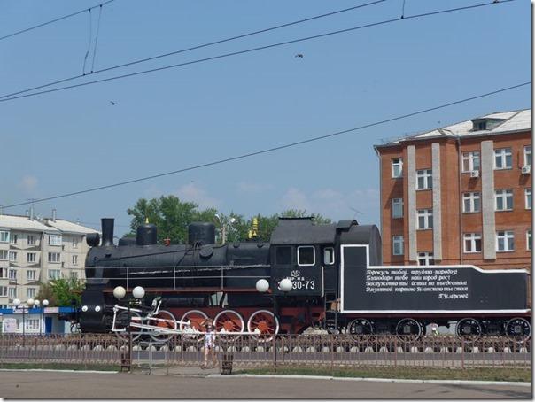 Barabinsk loco commémorative