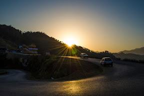 Good Morning Mahsehra. Views from KKH in Mansehra