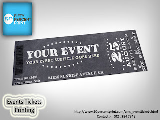event tickets printing printing malaysia 50percent print
