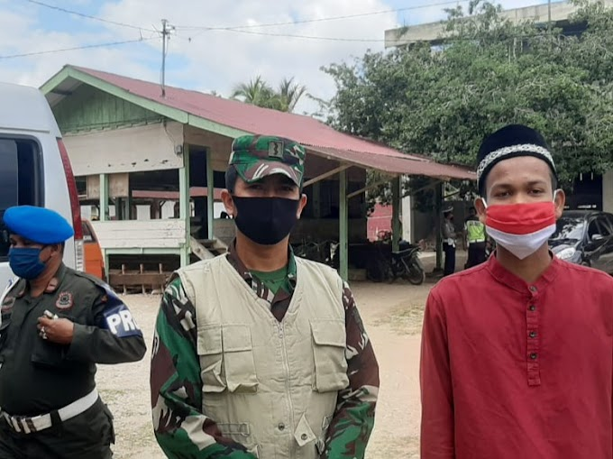Kasatpol PP Aceh Timur ; Ingatkan Penerapan Sanksi Tak Pakai Masker, Begini Tanggapan Santri