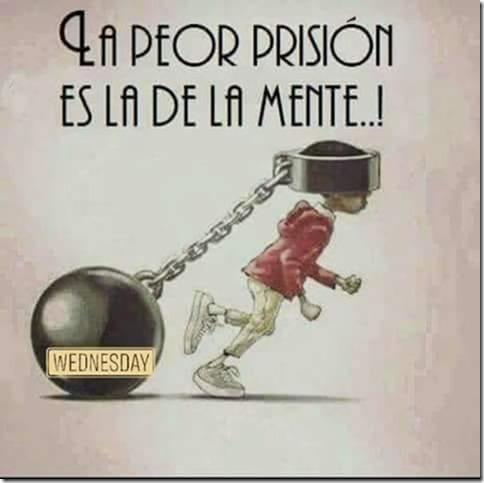 prisionero es la mente
