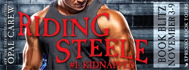 Book Blitz: Riding Steele: Kidnapped By Opal Carew