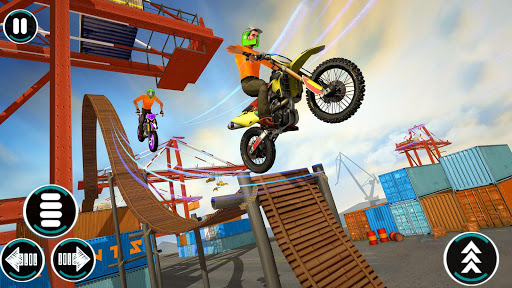 Bike Stunts Game u2013 Free Games u2013 Bike Games 2021 3D apktram screenshots 1
