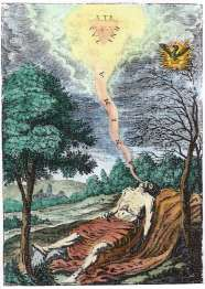 From Kenelm Digby Demonstratio Immortalitatis Animae Rationalis, Alchemical And Hermetic Emblems 2