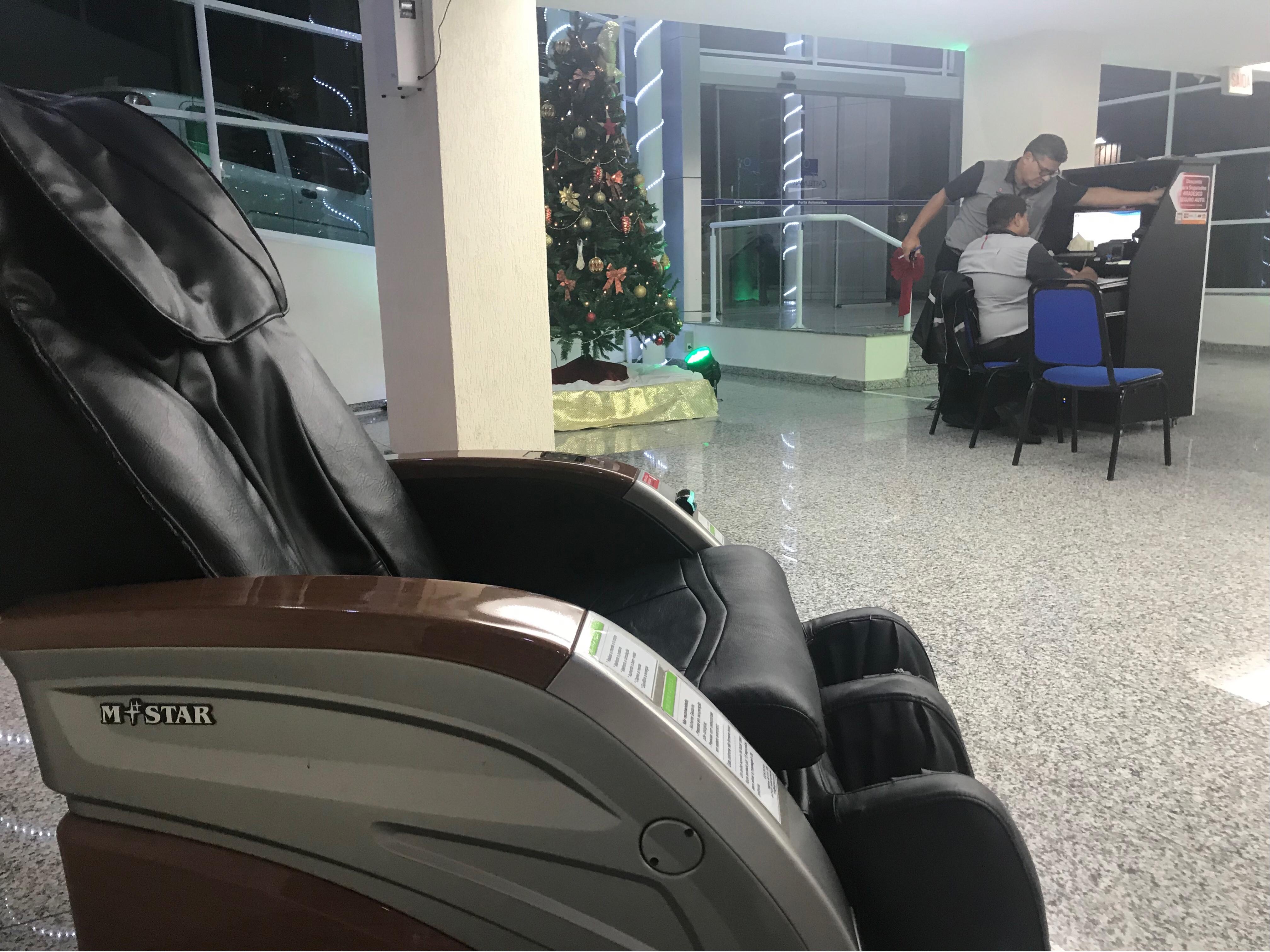 cadeira de massagem hotel CastelMar