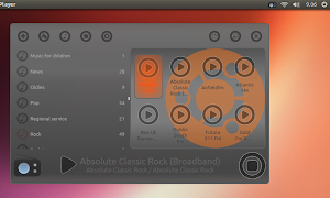 Great Little Radio Player‎ su Ubuntu 13.04 Raring