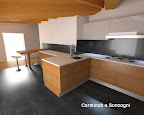 progetto di arredamento con rendering per cucina Artematica Valcucine in provincia di Bergamo-3.jpg