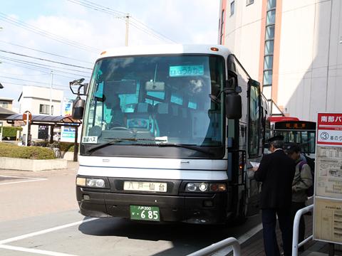 十和田観光電鉄「うみねこ号」 ・685 八戸ラピアバスターミナル改札中