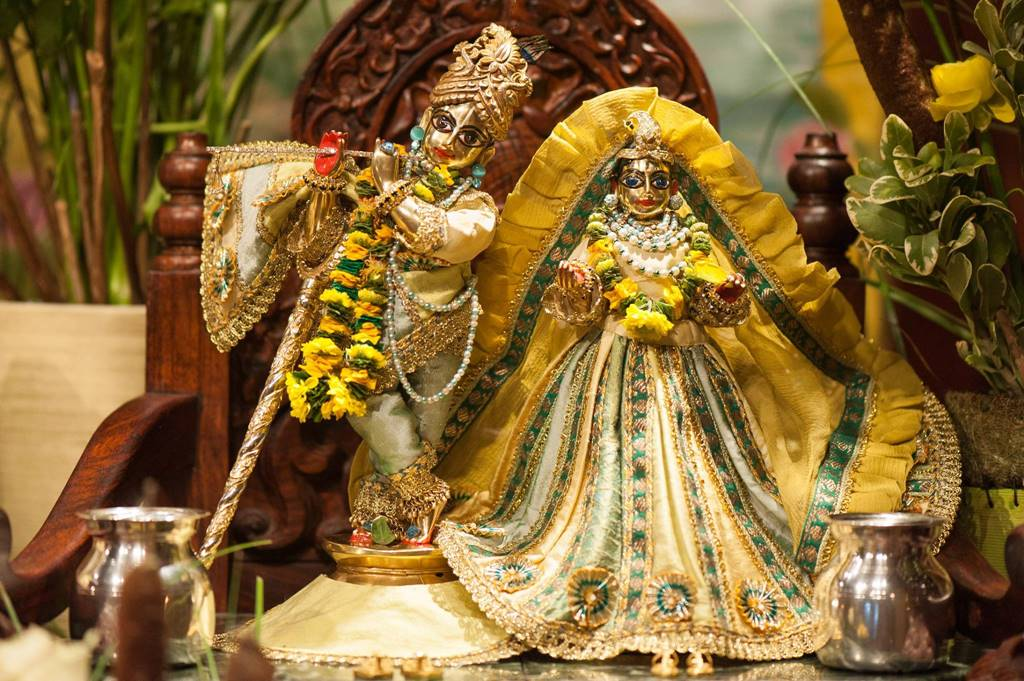 ISKCON Goloka Dhama, Germany Deity Darshan 31 Jan 2016 (7)