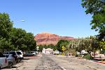 Blick in eine Seitenstraße von Moab