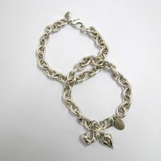 Robert Lee Morris Sterling Silver Bracelet Pair
