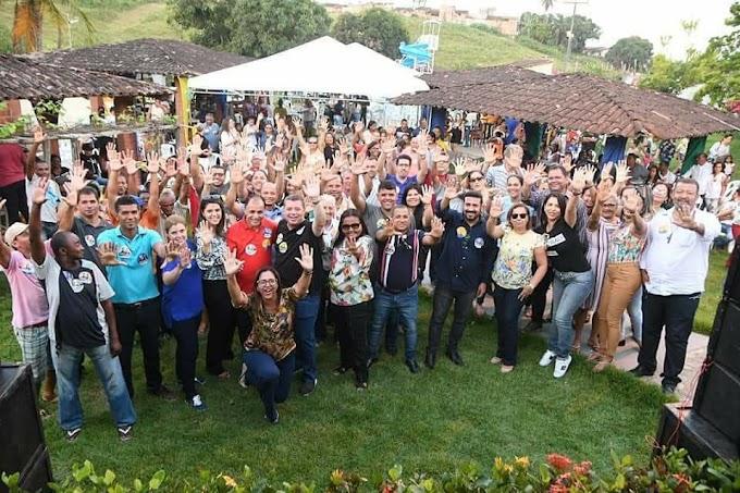 Prefeito de Maruim, Jeferson Santana,  consegue manter grupo com maior número de pré-candidatos