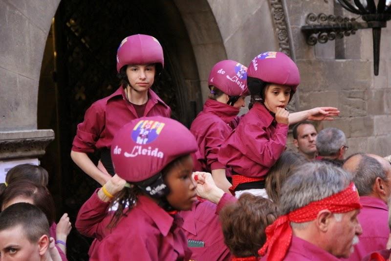 19è Aniversari Castellers de Lleida. Paeria . 5-04-14 - IMG_9393.JPG