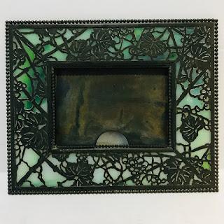 Tiffany Studios Grapevine Picture Frame