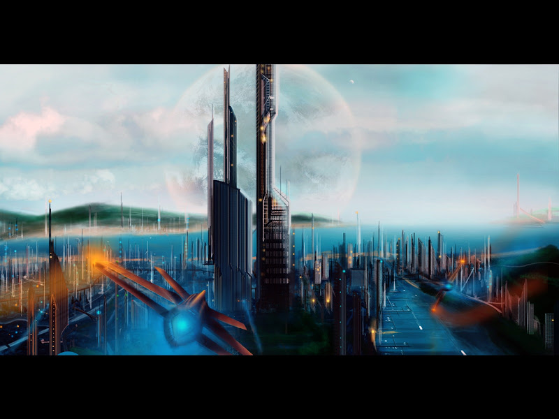 City Of Future And Blue Stars, Fiction 2