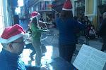 Actuación de Navidad en el centro