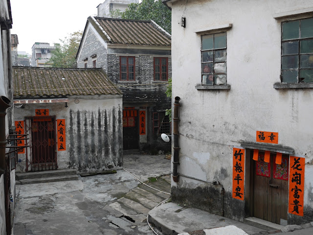 older traditional style homes in Yangjiang, China