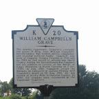 William Campbells Grave