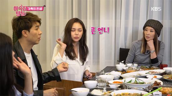 Jang Shin-young daughters pension