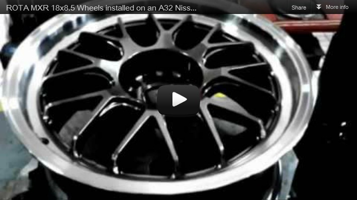 Rota MXR Wheels Custom Pinoy Rides Project Car Nissan Cefiro A32 VIP Style Install