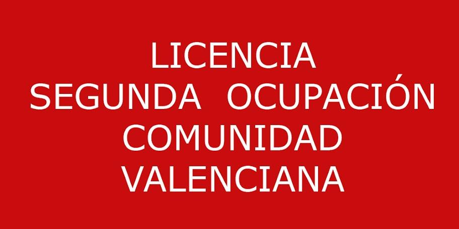 LICENCIA-SEGUNDA-OCUPACIÓN-VALENCIA