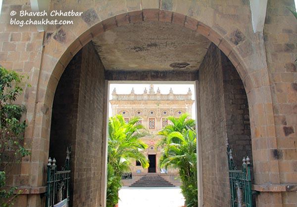 Gates of Mahadji Shinde Chhatri