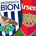 West Brom vs Arsenal Match Highlight