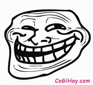 biểu tượng mặt cười troll