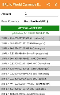 BRL to All Exchange Rates & Currency Converter - náhled