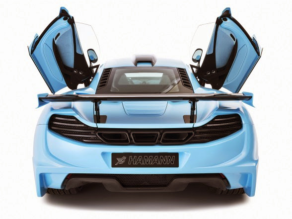 2013 Hamann McLaren MP4-12c memoR - Rear