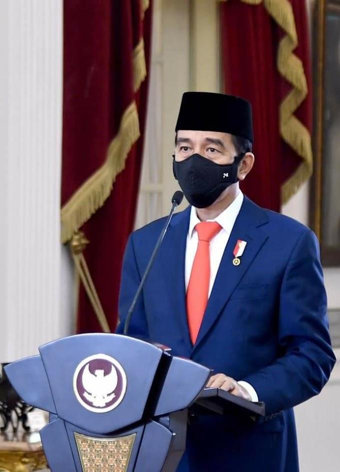 Jokowi : Indonesia harus tingkatkan ekonomi syariah ke tingkat global