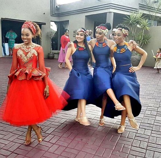 Traditional Wedding Dresses 2019 South Africa: South African Traditional Woman Dresses Designs 2018