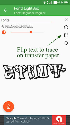 Font! Lightbox tracing app  Wallpaper 18