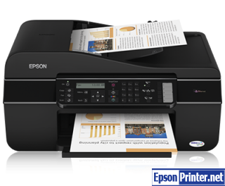 Reset Epson ME-650FN printer with tool