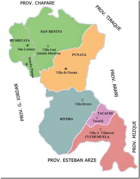 Provincias cochabambinas