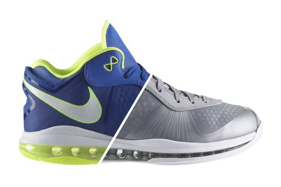 dc84487e5ad Sprite and Wolf Grey LeBron 8 Lows Make Shy Debut at Nikestore ...