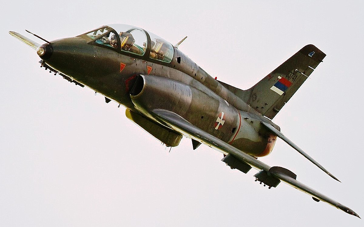 Soko G-4 Super Galeb Jet Trainer Wallpaper 1