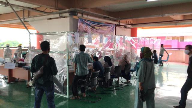 Hari Pertama Kerja, 32 Orang Warga Sumbar Positif Covid-19, Semuanya dari Cluster Pasar Raya