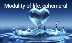 The Modality of Life, ephemeral...
