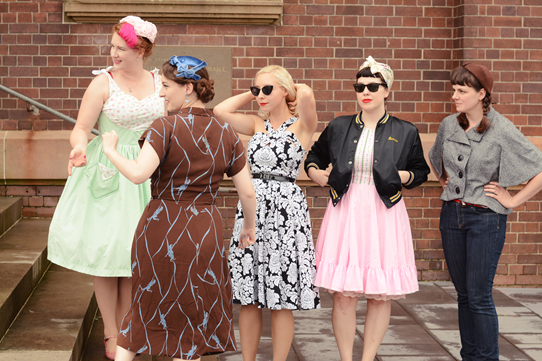 The First Annual Aussie Vintage Girls Meetup ~ Photo curtsey of Harlow Darling | Lavender & Twill
