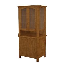 luxor corner cabinet
