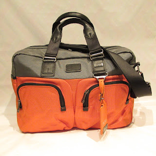 Tumi Two-Tone Carry-On Bag