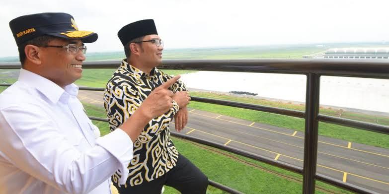 Ridwan Kamil Sempat Bertemu Menhub Saat Terima ABK Diamond Princess di Kertajati