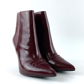 3.1 Phillip Lim Maroon Ankle Boots
